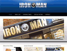 Tablet Preview of ironman-services.co.uk